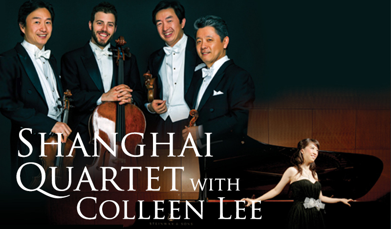 Shanghai Quartet with Colleen Lee