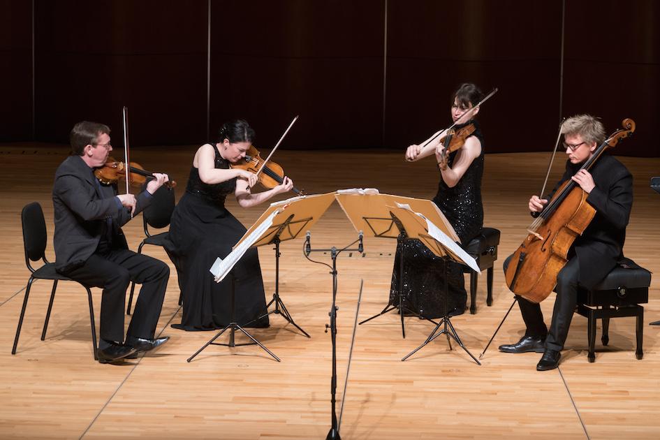 From Mozart to Ligeti: Minguet Quartett
