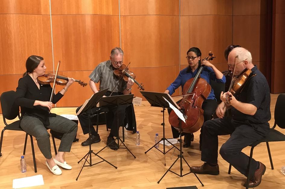 Julliard String Quartet: Chamber Music Workshop/ Composers' Workshop