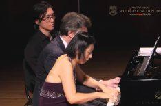 Around Twilight: Peter Serkin And Julia Hsu Piano Four Hands Concert Highlights