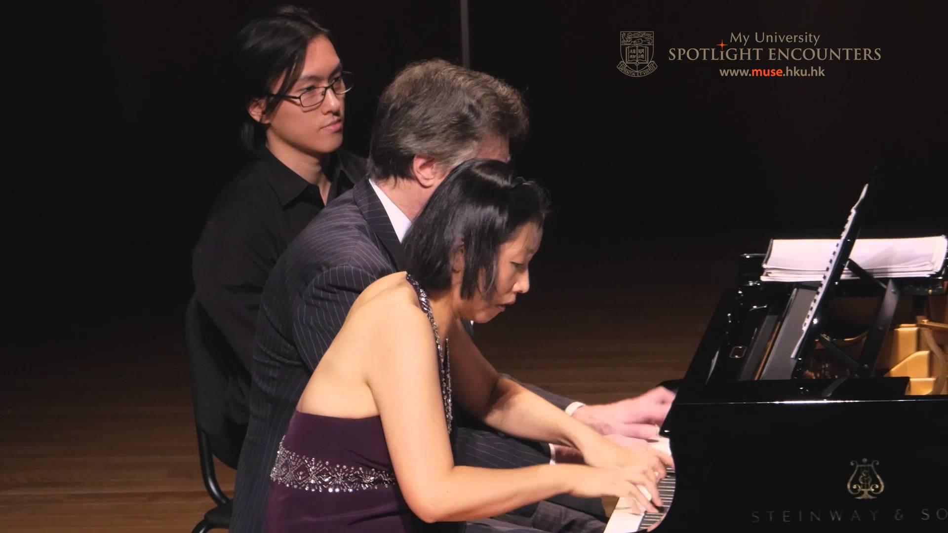 Around Twilight Peter Serkin And Julia Hsu Piano Four Hands