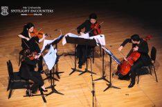 Composer Krzysztof Penderecki With Hong Kong Sinfonietta Musicians Highlight
