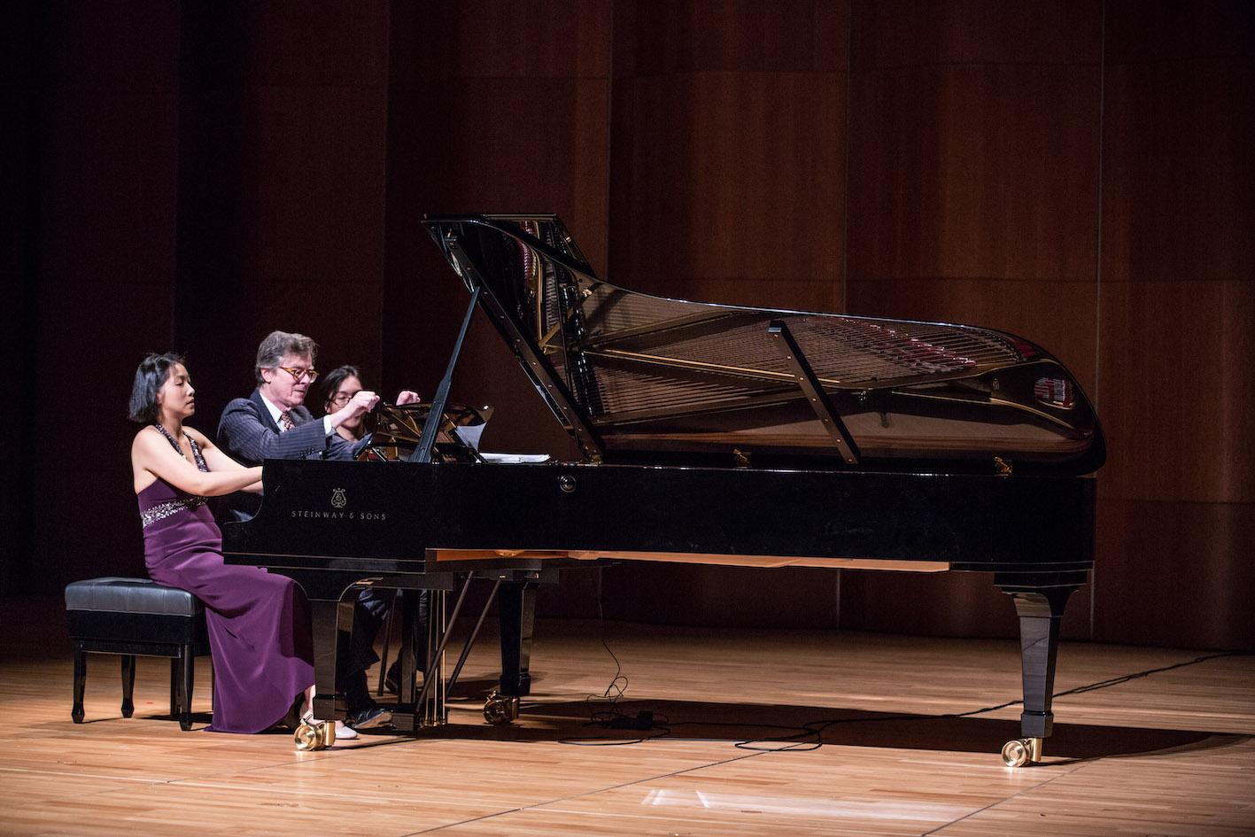 Around Twilight: Peter Serkin and Julia Hsu Piano Four Hands