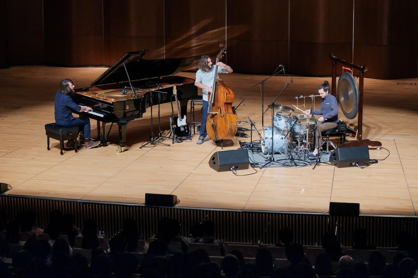 Jean Rondeau's Jazz Piano Trio Cabane!