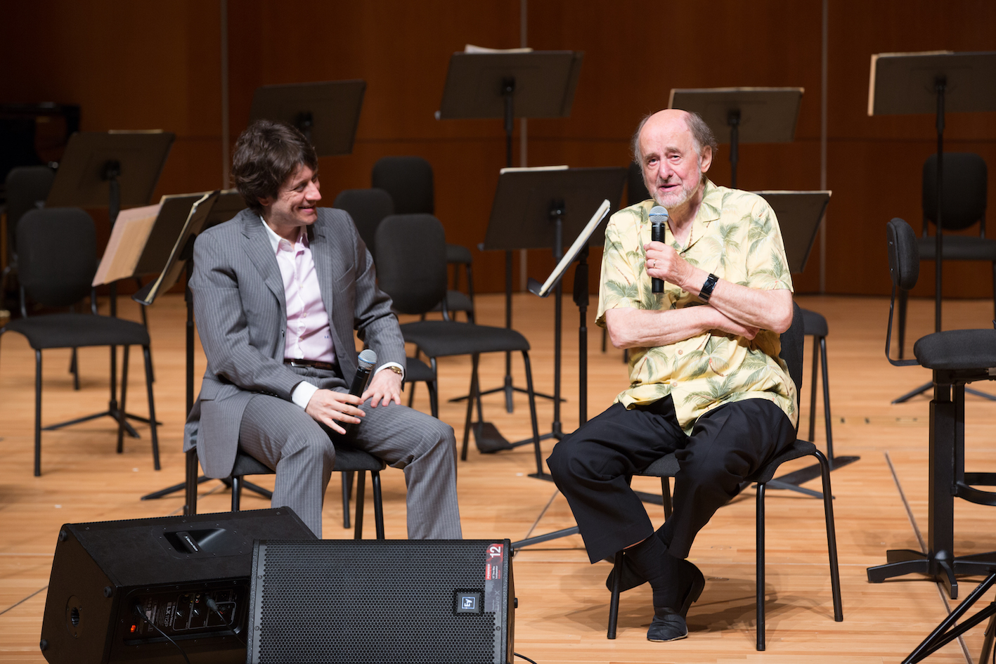Music in Words – A Dialogue with Sir Roger Norrington