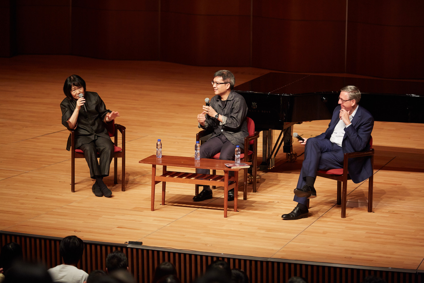 Music in Words – A Conversation with Zhu Xiao-Mei and Michel Mollard